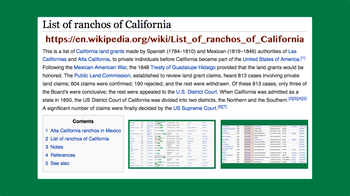 00.48.35 List of ranchos of California