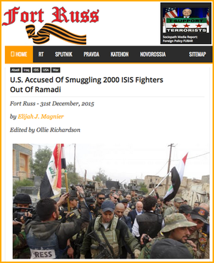 20151231 U.S. Accused Of Smuggling 2000 ISIS Fighters Out Of Ramadi
