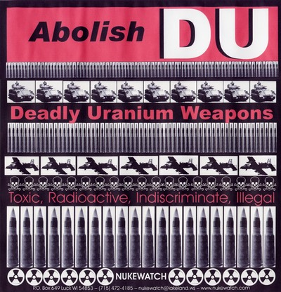 _Abolish Deadly Uranium Weapons-poster