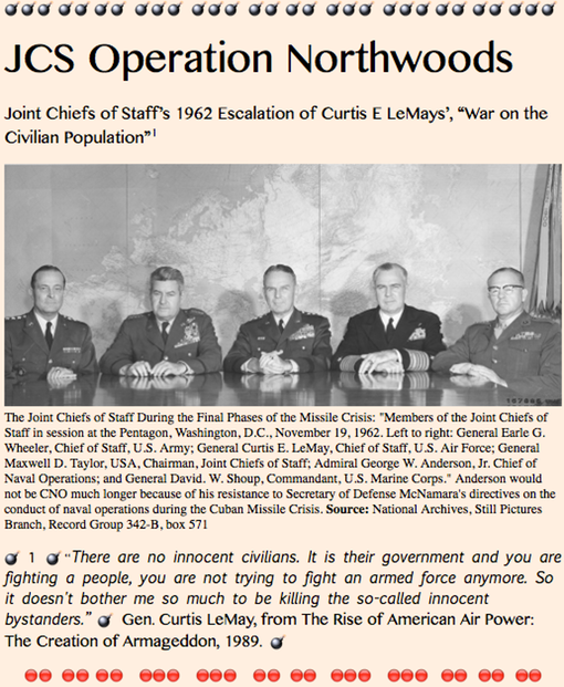 _TITLE PLATE- JCS Operation Northwoods
