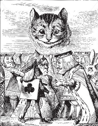 Cheshire Cat Observes the Executioner's Argument