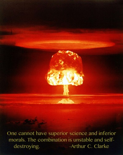 Clarke's Morals Quote under Castle_Romeo Nuclear Test (1174x1474)