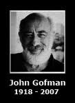 Dr. John Goffman, PhD, 1918 - 2007 - index