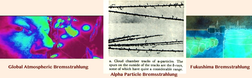 FIG. 41.5 -Bremsstrahlung at the Dance of the Universe & Attack On Matter