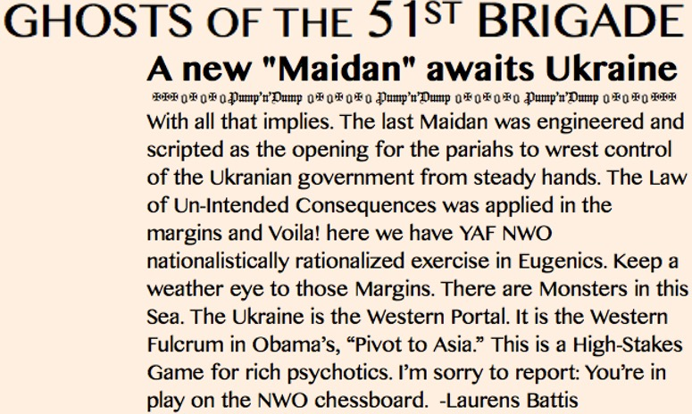 HEADLINE EDITORIAL INSERT- GHOSTS-A New Maidan Square