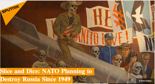 HEADLINE PIC- 20151226 Slice and Dice- NATO Planning to Destroy Russia Since 1949