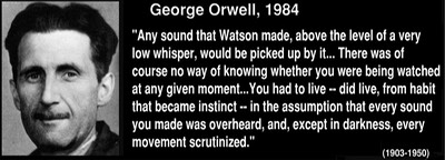 "Orwell, 1984, ""Any Sound That Watson Made..."""