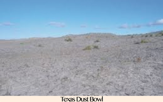 Pic 1. Texas Dust Bowl