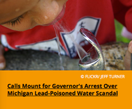 Pic 3. Calls Mount for Governor's Arrest Over Michigan Lead-Poisoned Water Scandal