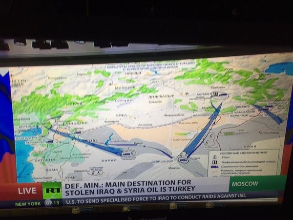 Pic 4. aerial, space surveillance reveal 3 main oil smuggling routes to Turkey.., CVOD9xtWwAAxVLv