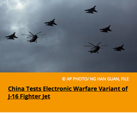 Pic 5. China Tests Electronic Warfare Variant of J-16 Fighter Jet