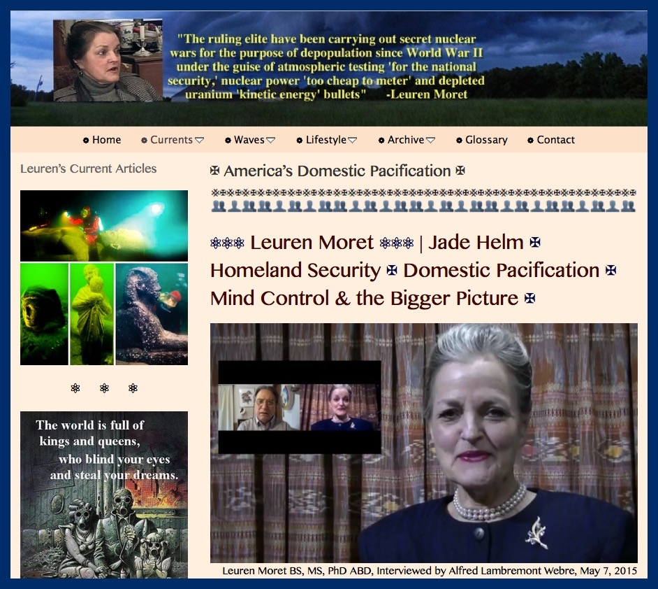 PRESS_TITLE PLATE- 20150507, LKM, ALW, Interview, America's Domestic Pacification