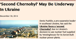 THUMBNAIL- 'Second Chernobyl' May Be Underway In Ukraine