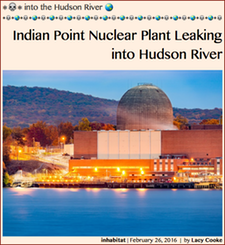 TITLE- 20160226 Indian Point Nuclear Plant  ⚛⚛⚛ into the Hudson River