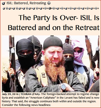 TITLE- ISIL- Battered, Retreating