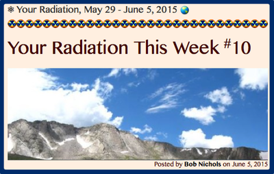 TITLE- Your Radiation, May 29 - June 5, 2015
