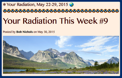 TITLE- Your Radiation, May 22-29, 2015