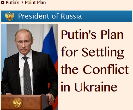 TITLE PLATE- Putin's 7-Point Plan