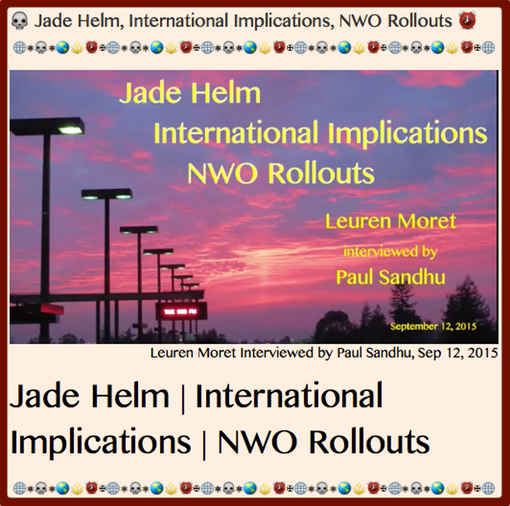 TITLE.2 Jade Helm, International Implications, NWO Rollouts