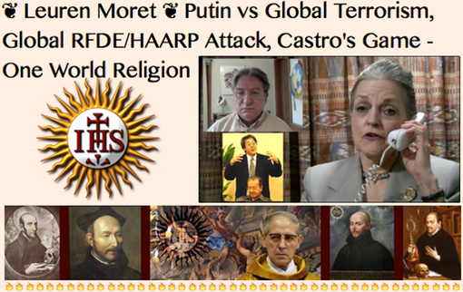 UNDER_YouTube- 20160303 Leuren Moret- Putin vs Global Terrorism, Global RFDE/HAARP Attack, Castro's Game-One World Religion