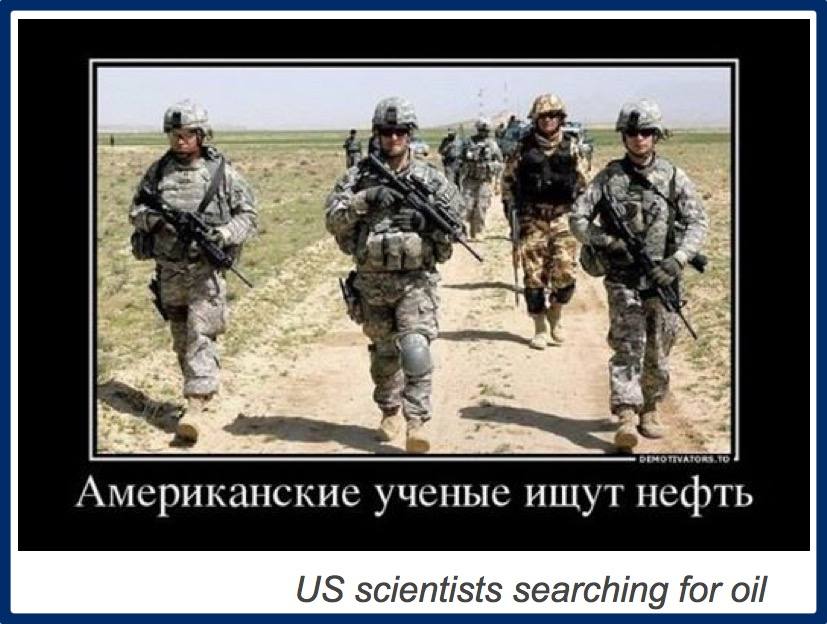 US scientists searching for oil
